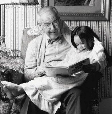фото дедушки с внучкой