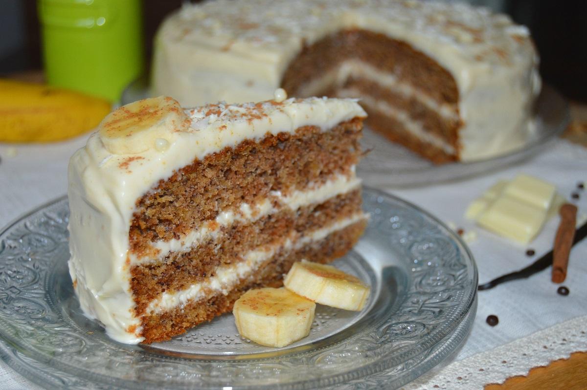 Рецепты бананового торта в домашних условиях