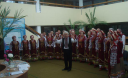 "Rivne pensioners recited poetry, sang with the choir ""Veres"" and congratulated a lady on her birthday"