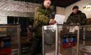 Ukraine pro-Russia rebels hold elections in the east, fueling conflict