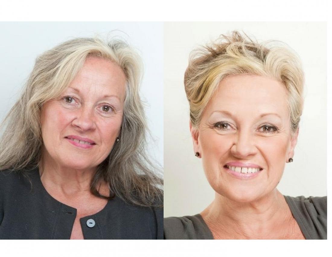 Дневной макияж для 50 летних