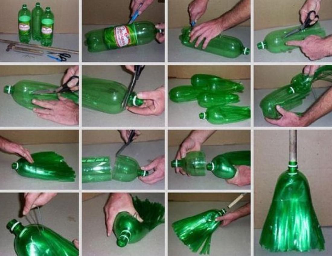 Поделки для дома пластиковые бутылки с фото