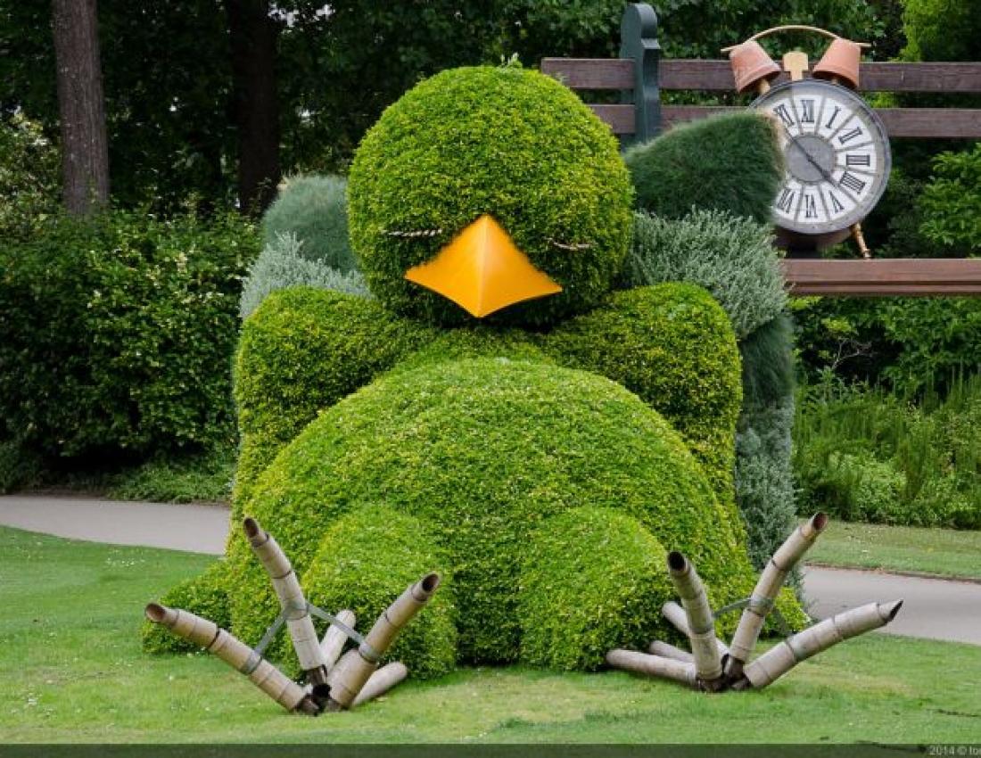 Садовые фигуры в дизайне сада