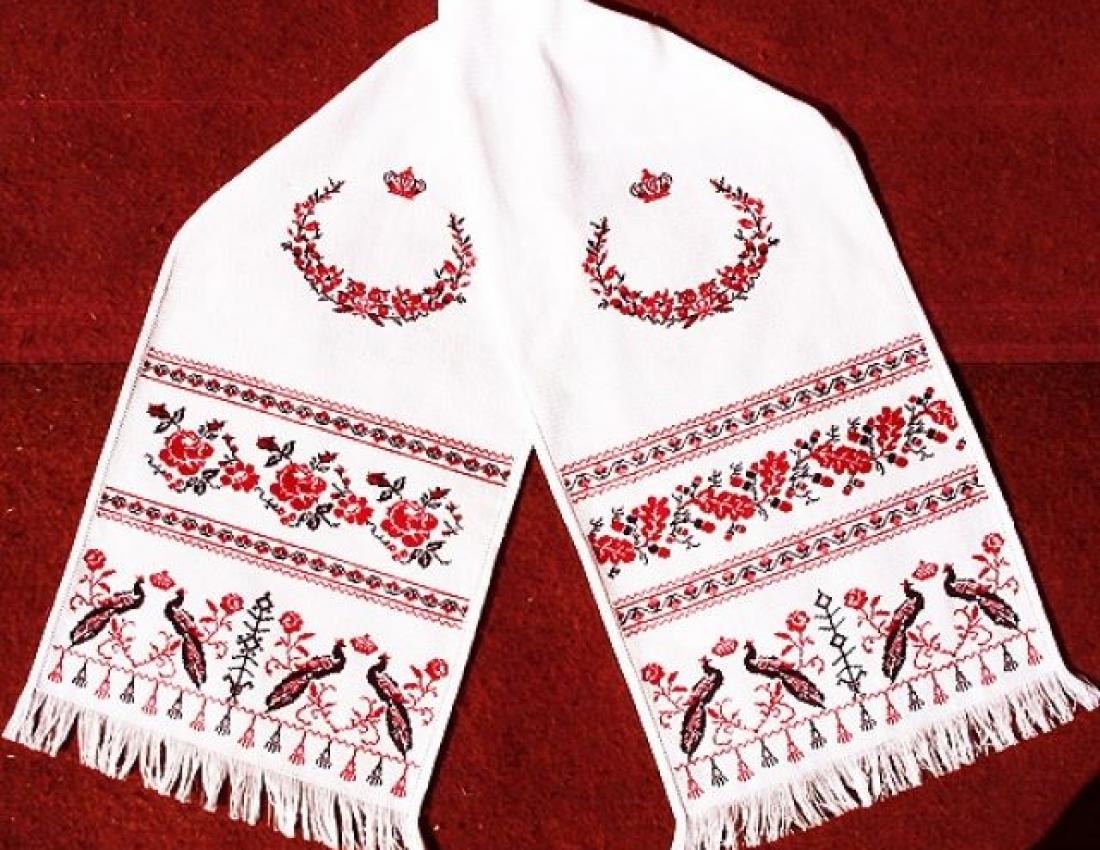 Свадебный рушник схемы русская традиция