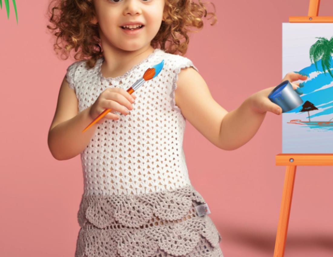 вязание для детей 3 лет видео