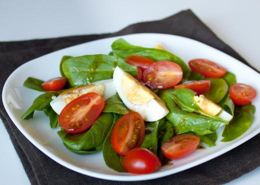 Салат со шпинатом рецепты и