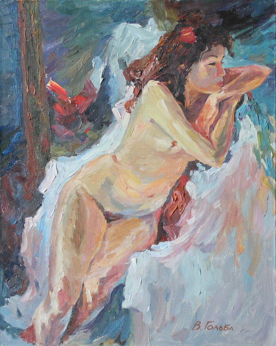 Художник рисует голую натуру фото 13-362