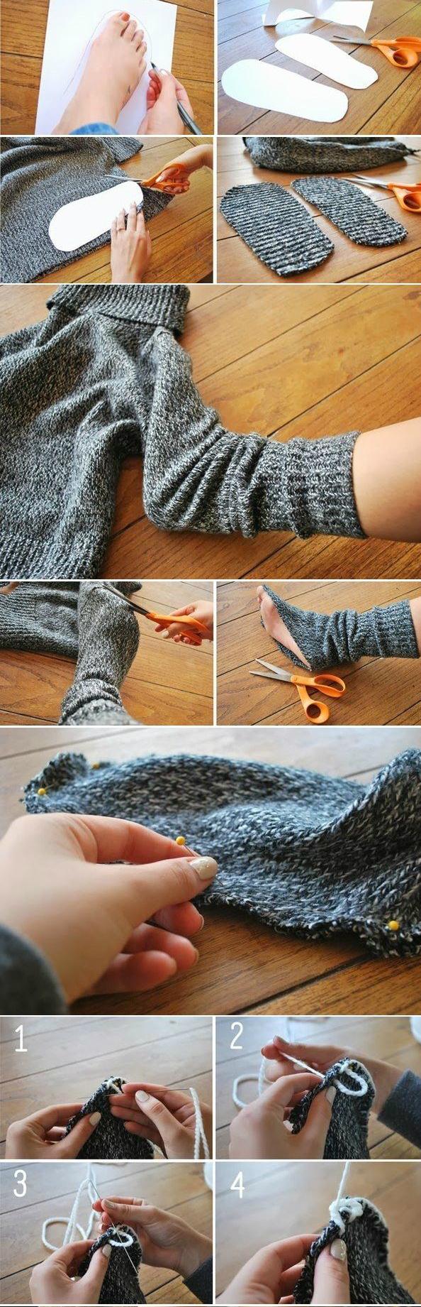 9 теплых и уютных вещей из старого свитера Новости Всеукраинская ассоциация пенсионеров