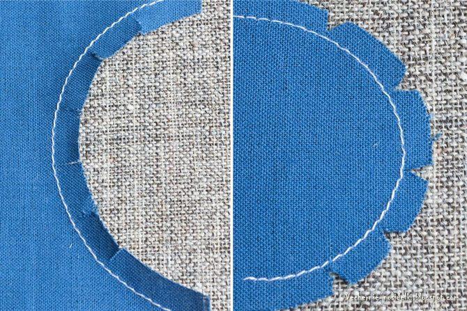 Как сделать отверстия на ткани