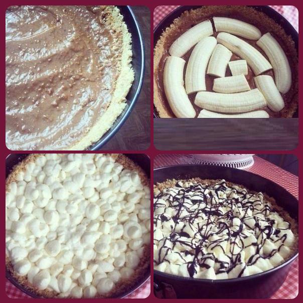 Баноффи пай рецепт с печеньем