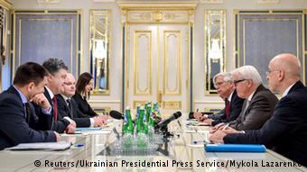 Steinmeier met with Ukrainian leadership in Kyiv prior to departing for Moscow